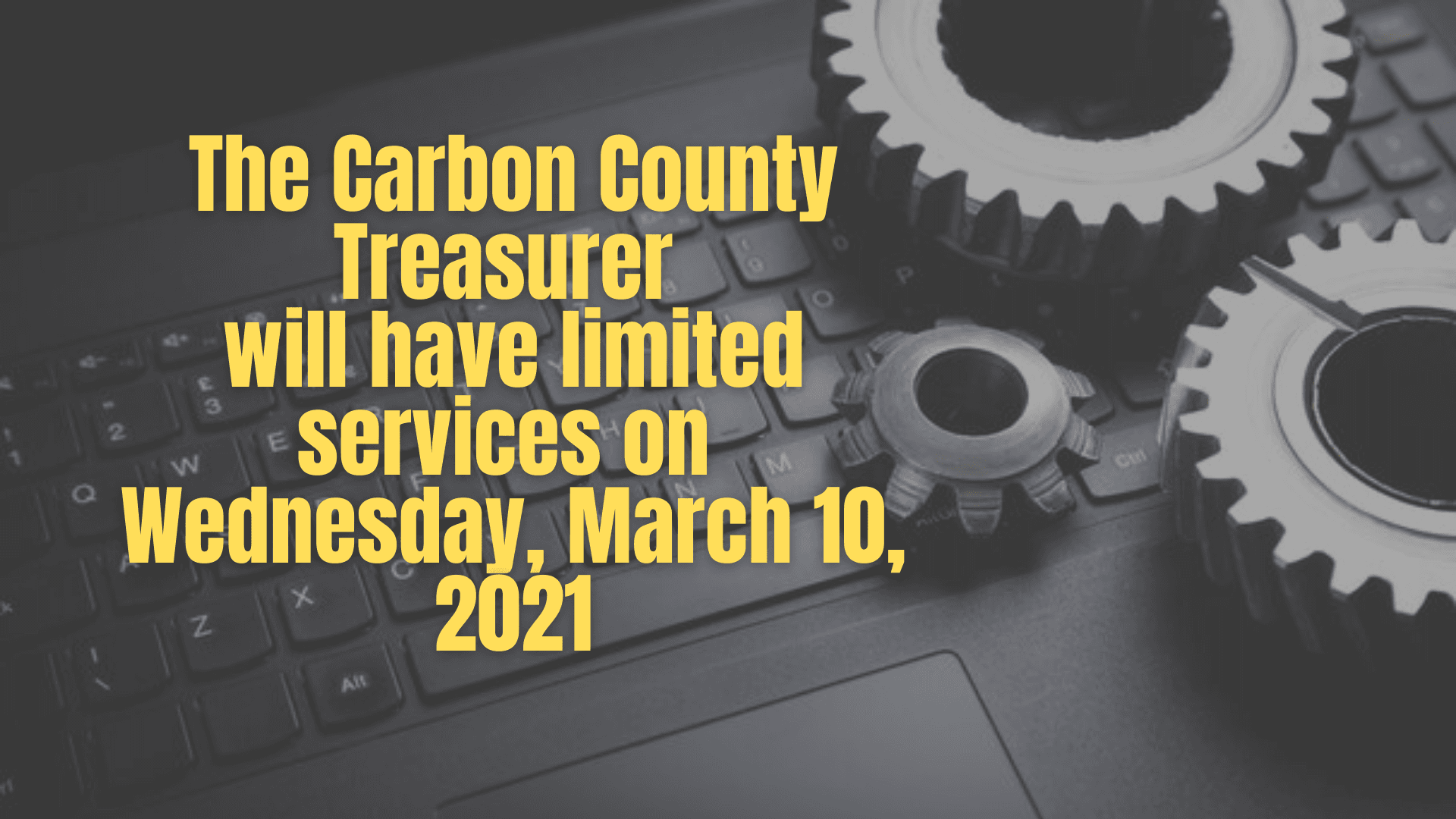 The Carbon County Treasurer Office
