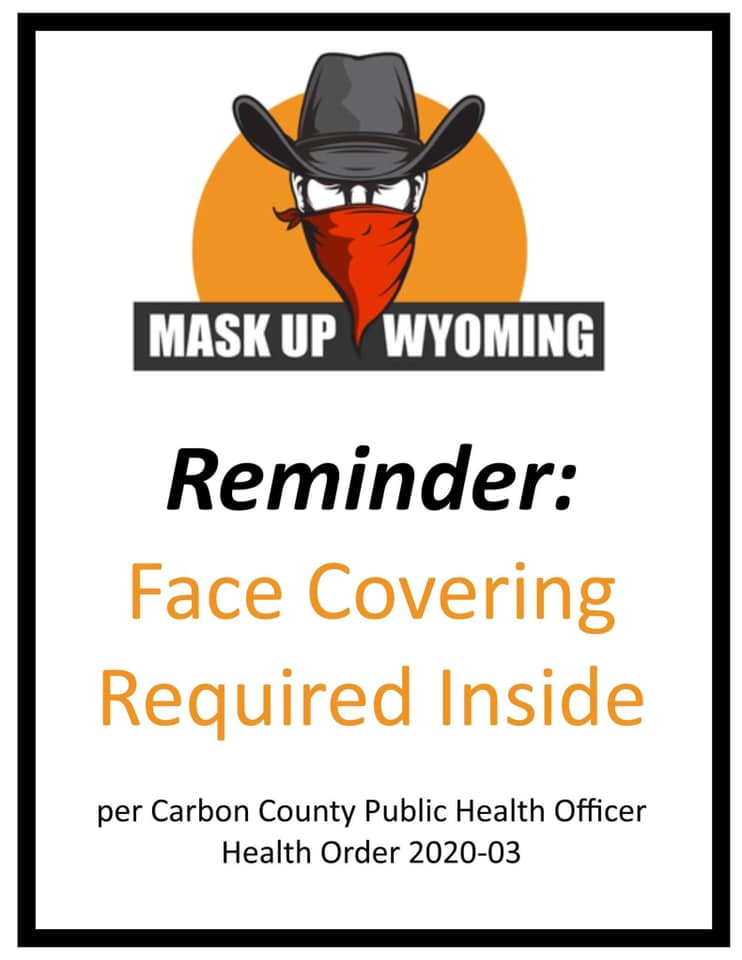 Mask Up Wyoming Mandate