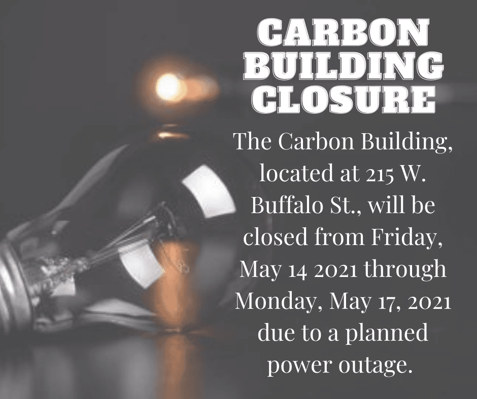 Carbon Building Closure - facebook post